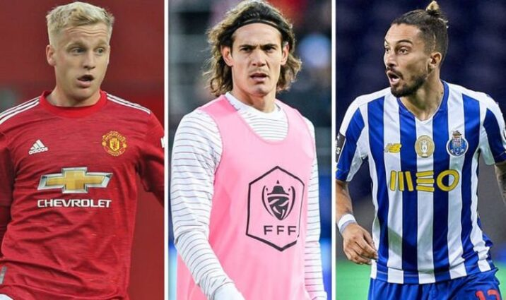 Donny van de Beek, Edinson Cavani, and Alex Telles are most noteworthy signings this season