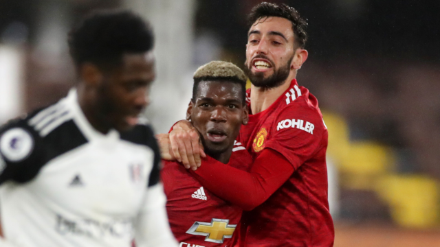 Pogba creates a moment of magic to take Manchester United top of the table
